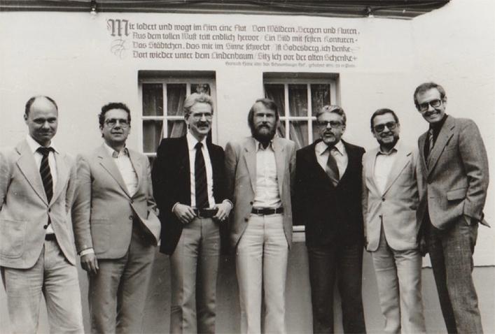 Gründungsmitglieder Wilhelm-Wundt-Gesellschaft 1979